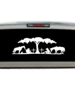 Cowboy Cowgirl Prayer Decal Sticker - https://customstickershop.us/product-category/western-decals/