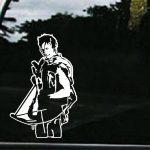Walking Dead Daryl Dixon Truck Decal Sticker