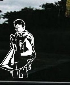 Walking Dead Daryl Dixon Decal Sticker - //customstickershop.us/product-category/zombie-stickers/