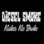 Diesel Smoke Broke Truck Stickers