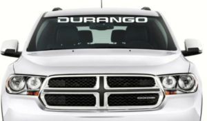 Dodge Durango Windshield Decals - https://customstickershop.us/product-category/windshield-decals/