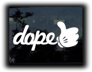 Dope Thumbs Up JDM Stickers https://customstickershop.us/product-category/jdm-stickers/