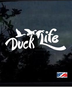 duck life window decal sticker
