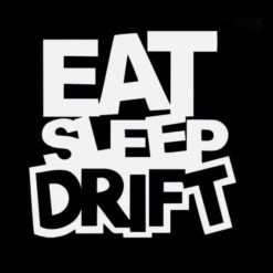 Eat Sleep Drift JDM Stickers - https://customstickershop.us/product-category/jdm-stickers/