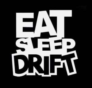 Eat Sleep Drift JDM Stickers - https://customstickershop.us/product-category/jdm-stickers/