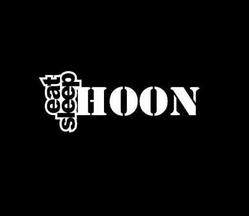 Eat Sleep Hoon JDM Stickers - https://customstickershop.us/product-category/jdm-stickers/