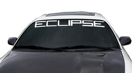 Mitsubishi Eclipse Windshield Decals - https://customstickershop.us/product-category/windshield-decals/