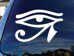 Egyptian Eye of Horus Decal Sticker - https://customstickershop.us/product-category/stickers-for-cars/