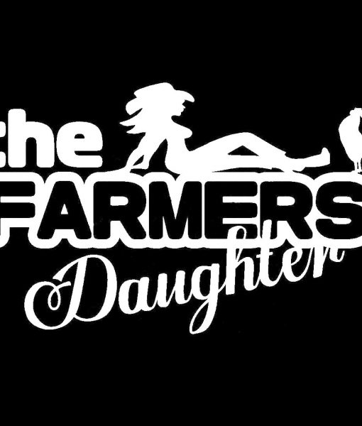Farmers daughter window decals http customstickershop us product category