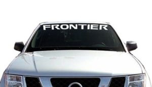Nissan Frontier Windshield Decals - https://customstickershop.us/product-category/windshield-decals/