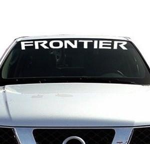 Vinyl Windshield Banner Decal Stickers Fits Nissan ...