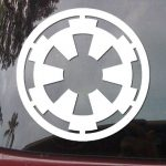 Galactic Empire Star Wars Decal - https://customstickershop.us/product-category/stickers-for-cars/