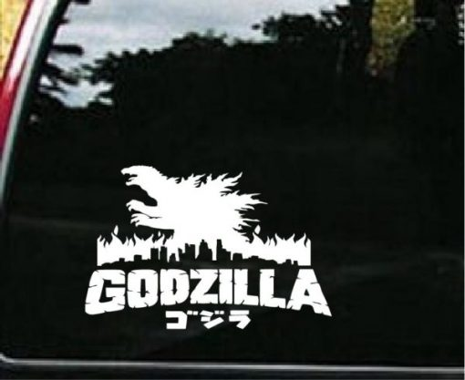 Godzilla Shadow Gojira Kaiju Decal - https://customstickershop.us/product-category/stickers-for-cars/