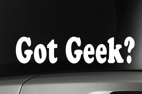 Got Geek Funny Window Decals - https://customstickershop.us/product-category/funny-window-decals/