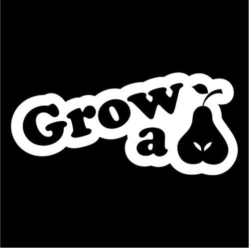 Grow A Pair Funny JDM Vinyl Decal Stickers - Funny decal stickers for cars