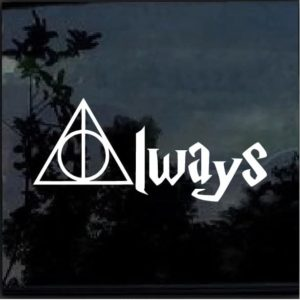 harry potter always decal sticker