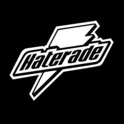 Haterade Funny JDM Sticker - https://customstickershop.us/product-category/jdm-stickers/