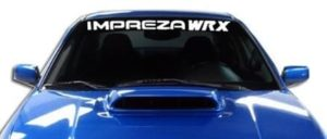 Impreza WRX Windshield Decals - https://customstickershop.us/product-category/windshield-decals/