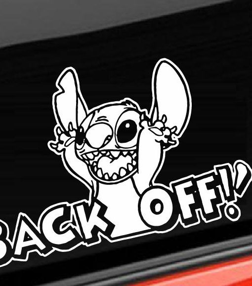 Stitch back off decal sticker http customstickershop us product