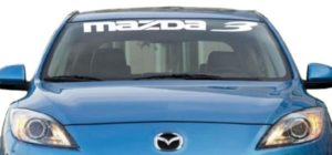 Mazda 3 Windshield Decals - https://customstickershop.us/product-category/windshield-decals/