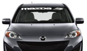 Mazda 5 Windshield Decals -https://customstickershop.us/product-category/windshield-decals/
