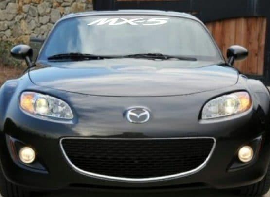 Mazda mx 5 miata windshield decals https customstickershop us product