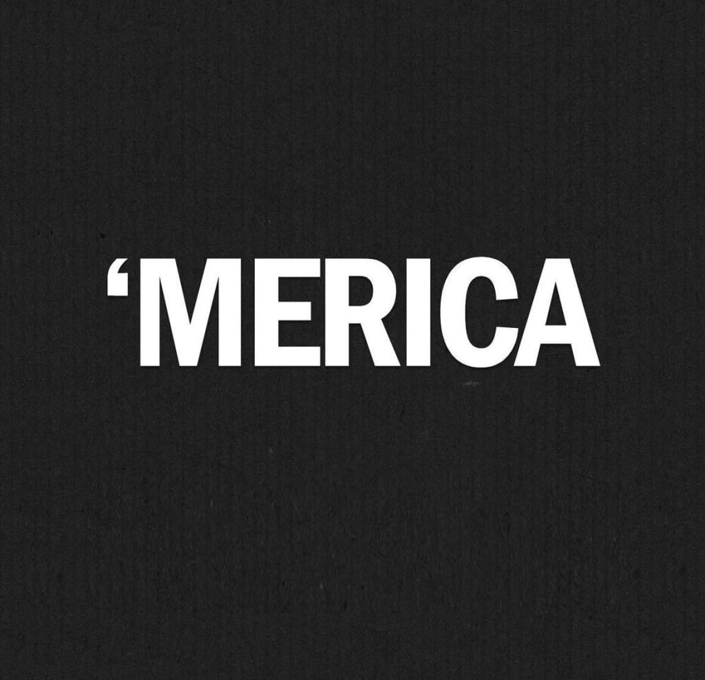 Merica funny vinyl decal stickers for Window transfers