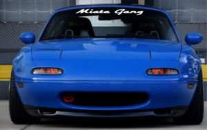 Mazda Miata Gang Windshield Decals - https://customstickershop.us/product-category/windshield-decals/