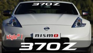 Nissan 370Z Windshield Decals - https://customstickershop.us/product-category/windshield-decals/