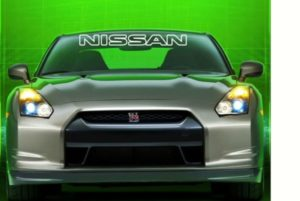 Nissan II Windshield Decals - https://customstickershop.us/product-category/windshield-decals/