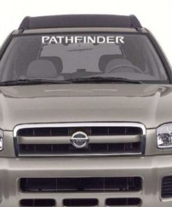 Nissan Pathfinder Windshield Decals - https://customstickershop.us/product-category/windshield-decals/