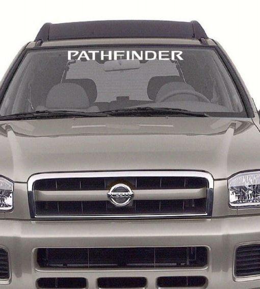 Nissan Pathfinder Windshield Decal Sticker Custom Sticker Shop - Windshield decals for trucks