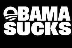 Obama Sucks Funny Window Decals - https://customstickershop.us/product-category/funny-window-decals/