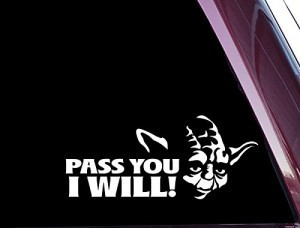 Pass you I will Yoda JDM Stickers - https://customstickershop.us/product-category/jdm-stickers/