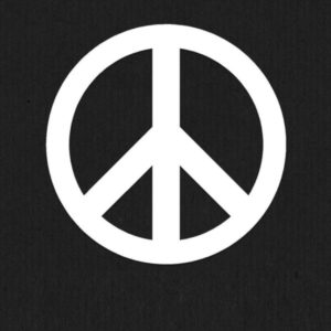 Peace Car Decal Sticker - https://customstickershop.us/product-category/stickers-for-cars/