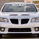 Pontiac GXP Windshield Banner Decal Sticker