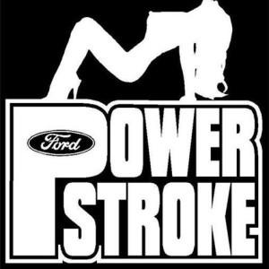 ford powerstroke diesel vinyl decal stickers custom