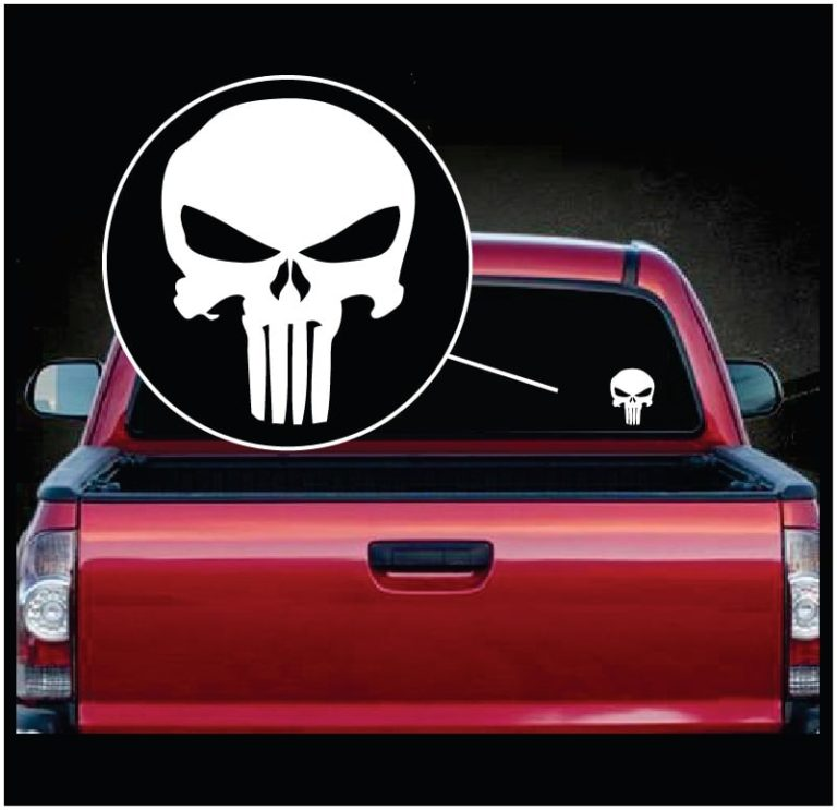 Punisher skull molon labe vinyl window decal sticker apunisher skull molon labe vinyl window decal sticker