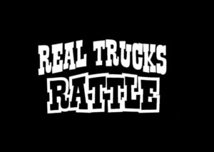 Real Trucks Rattle Vinyl Decal Stickers