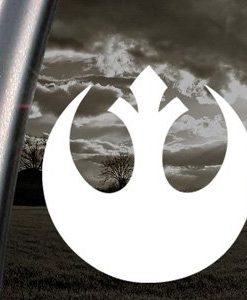 Rebel Alliance Car Decal Sticker - https://customstickershop.us/product-category/stickers-for-cars/