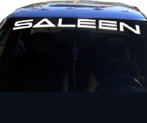 Saleen mustang windshield decals http customstickershop us product category