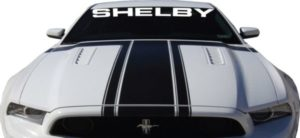 Shelby Mustang Windshield Decals - Shelby Mustang Windshield Decals