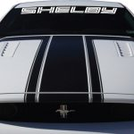 Ford Mustang Shelby Windshield Banner Decal Sticker A3