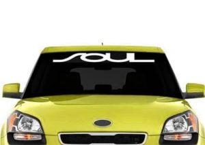 Kia Soul Windshield Decals - https://customstickershop.us/product-category/windshield-decals/