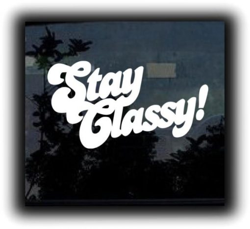Stay Classy Funny JDM Sticker - https://customstickershop.us/product-category/jdm-stickers/