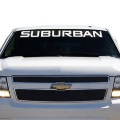 Chevy Suburban Windshield Decals - https://customstickershop.us/product-category/windshield-decals/