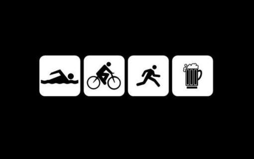 Triathlon Funny Window Decals - https://customstickershop.us/product-category/funny-window-decals/