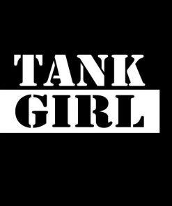 Tank Girl Window Decal Sticker - Tank Girl Window Decal Sticker