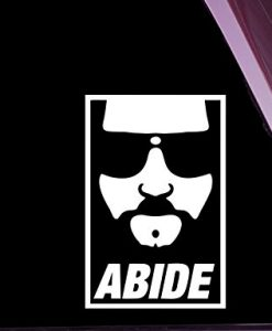 Dude Abide Stickers For Cars - https://customstickershop.us/product-category/stickers-for-cars/