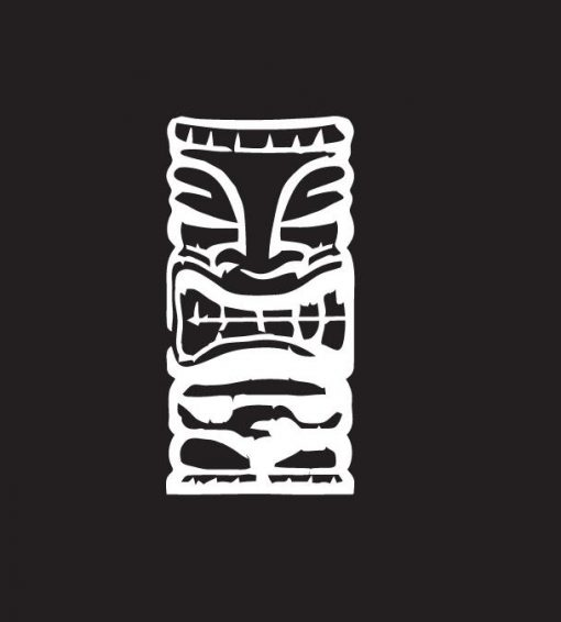 Tiki Witch Doctor Decal Sticker - https://customstickershop.us/product-category/stickers-for-cars/